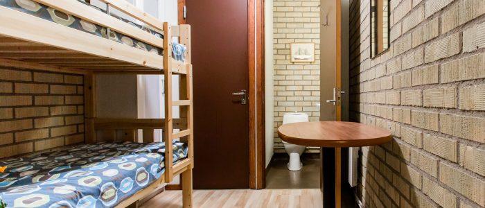 eget rum toalett vandrarhem